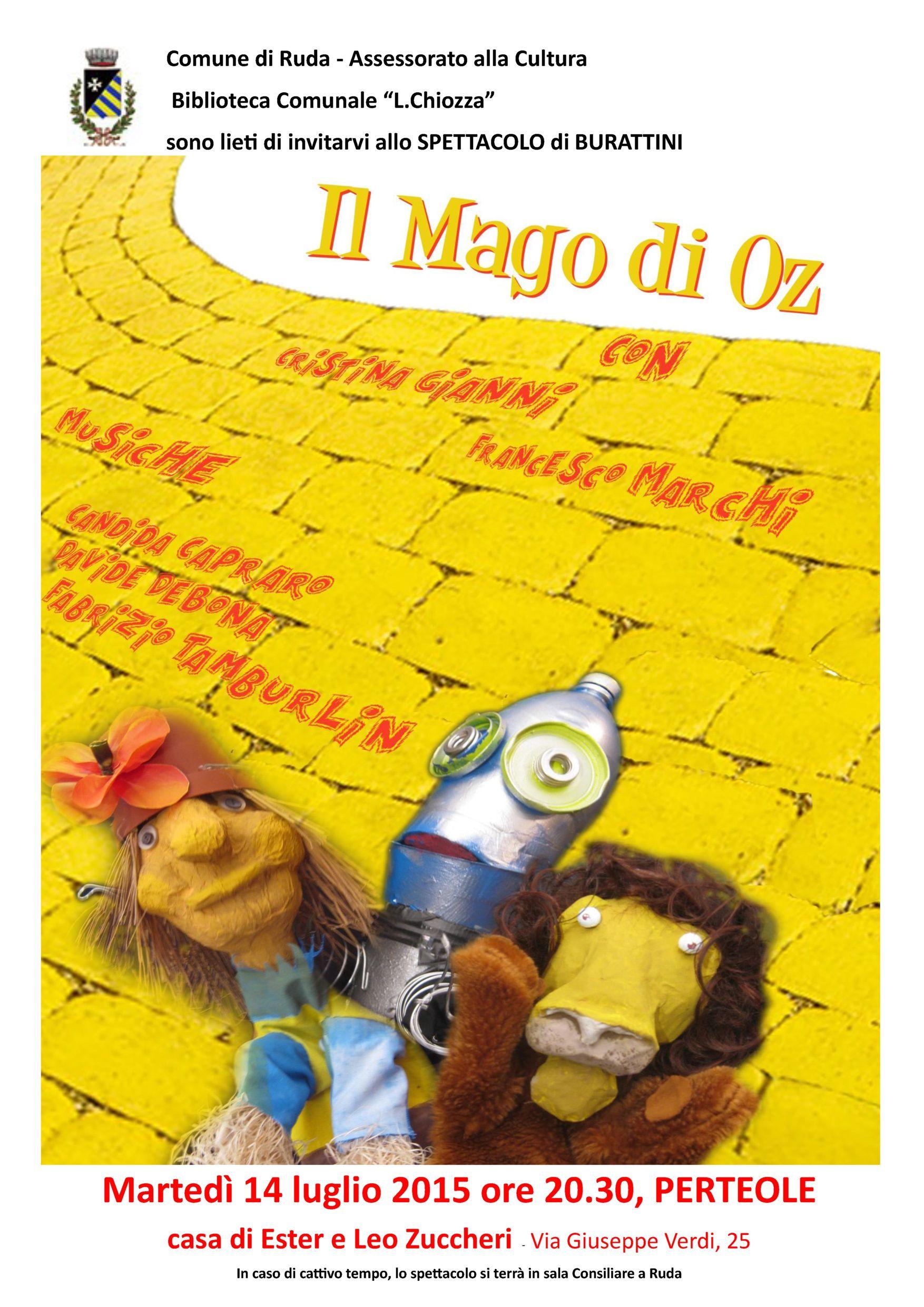 Il Mago di Oz - Ruda
